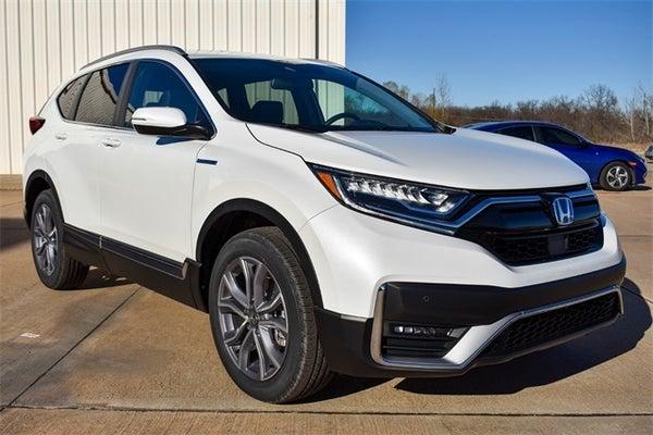 2021 honda cr-v hybrid 2021 touring platinum white pearl